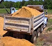 песок для строительный работ